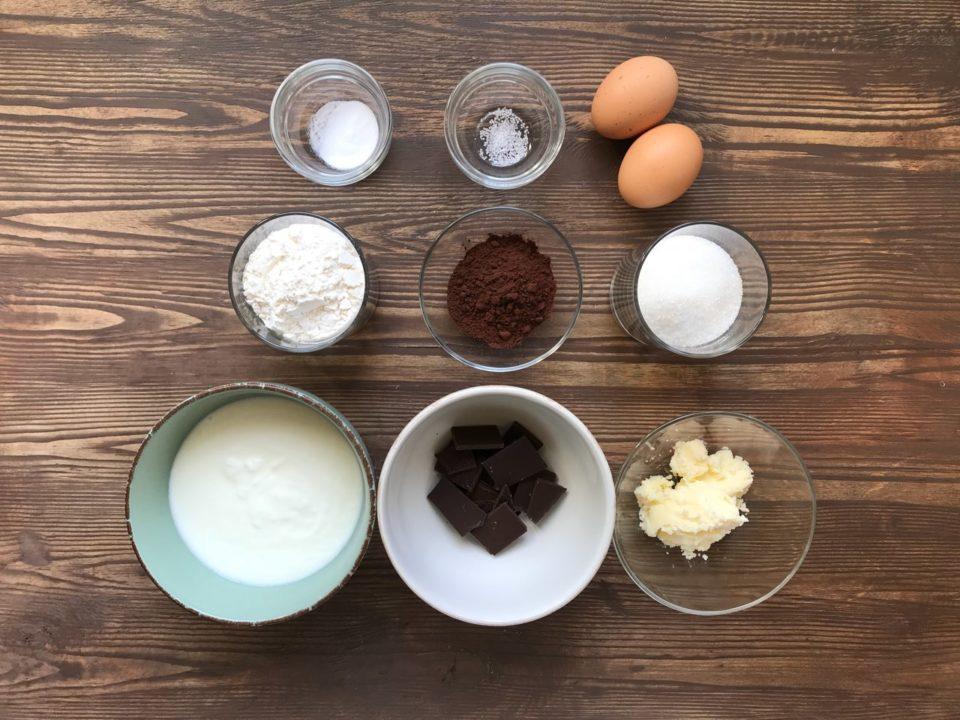 Шоколадно-йогуртовый бисквит   Yellowmixer.com