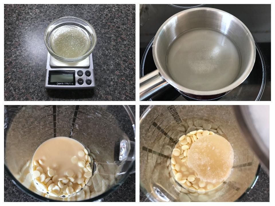 приготовление глазури