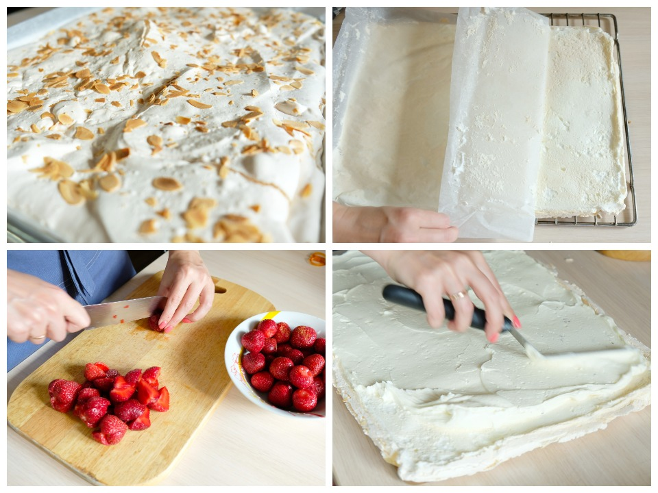 meringue roulade filling