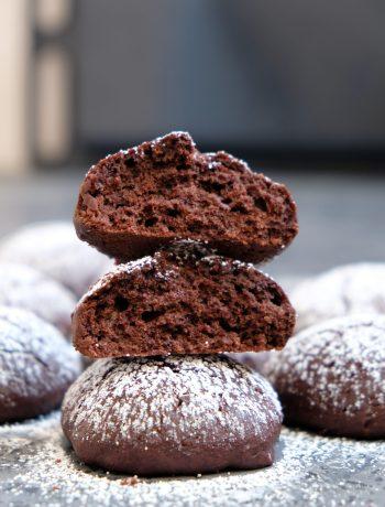 шоколадное печенье с кокосовым маслом