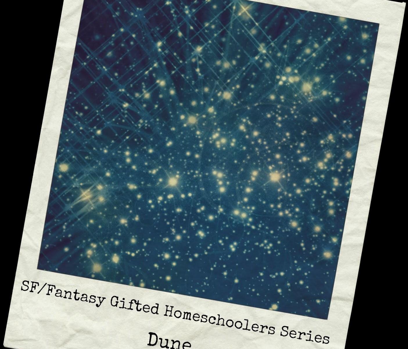 SF/Fantasy Gifted Homeschoolers Series, Dune, yellowreadis.com Image: Old photo of stars