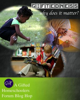 Giftedness, Why Does it Matter? Image: Girl playing with bubbles, girl drawing, boy reading