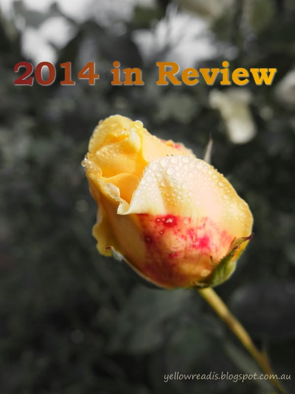 2014 in Review, yellowreadis.com Image: Yellow rose