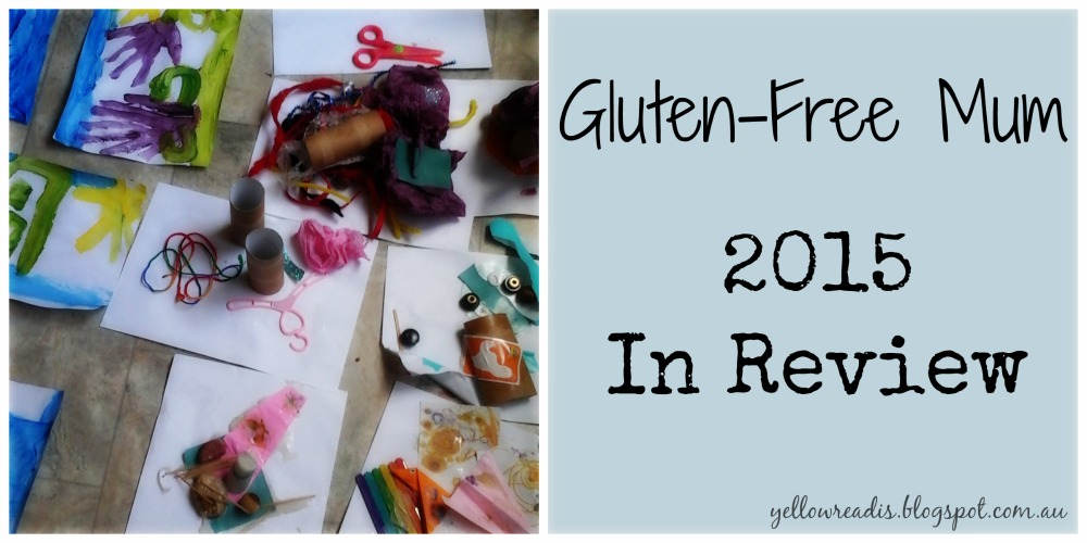 2015 in Review, yellowreadis.com Image: Crafting with paper, paint and accessories