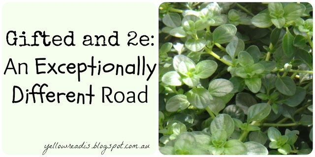 Gifted and 2e: An Exceptionally Different Road, yellowreadis.com Image: Green leafy ground cover