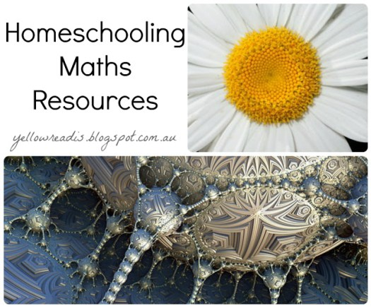 Homeschooling Maths Resources, yellowreadis.com