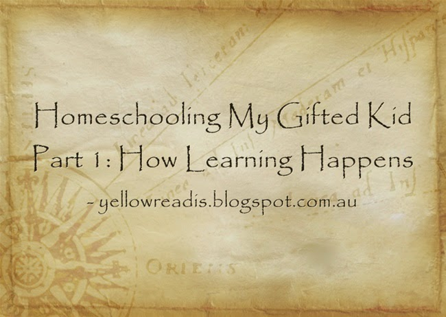 Homeschooling My Gifted Kid Part 1: How Learning Happens, yellowreadis.com Image: Old map