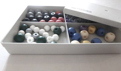 Image: Box of Molymods for Chemistry