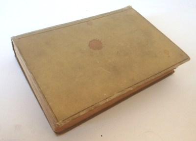 Most Gifted Children Have Never Been Studied | yellowreadis.com  Image: Old faded green hardcover book with stains.