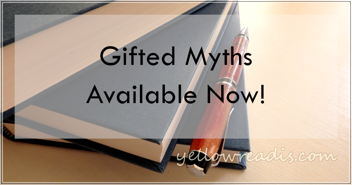 Gifted Myths Available Now! | yellowreadis.com