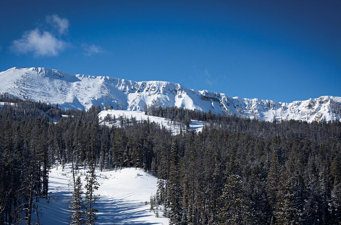 Yellowstone Club boasts ski runs that tie directly into Big Sky Resort.