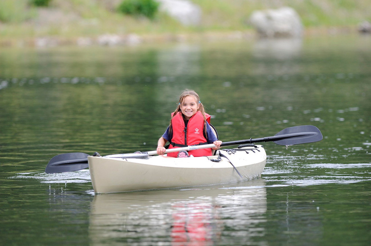 Acquire or enhance your kayaking skills on Miller Pond.