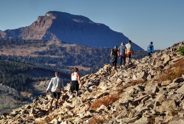 YC's hiking trails offer incredible views and a variety of terrain.