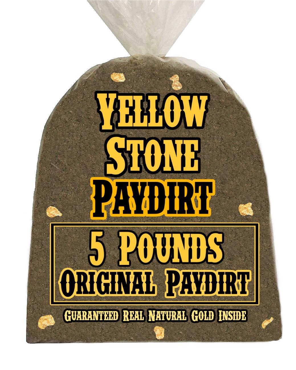 1lb Gold Bearing Quartz Paydirt From Blewett Guaranteed Gold WA Unsearched