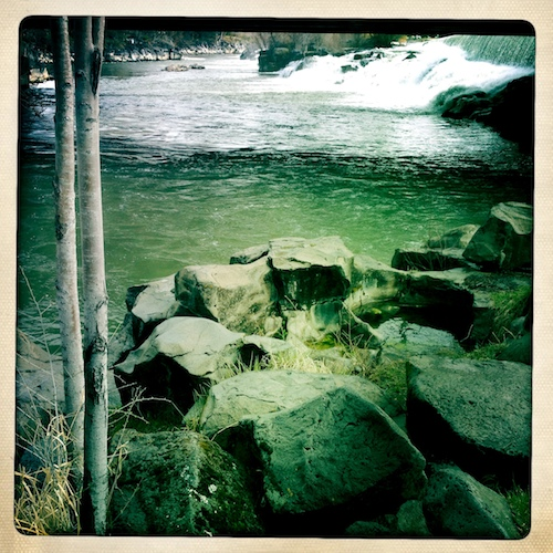 Rocks by the River