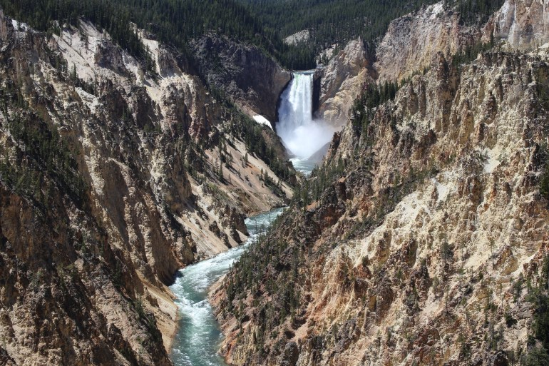Lower Yellowstone Falls in the Grand Canyon of the Yellowstone