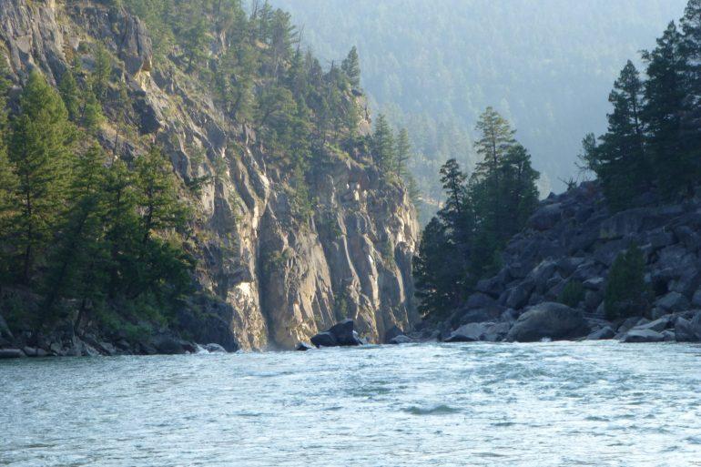 Black Canyon Yellowstone River Trail