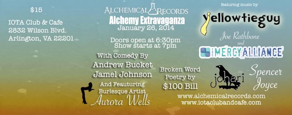 January Alchemy Extravaganza at IOTA