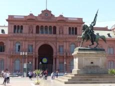 The government building - the Casa Rosada