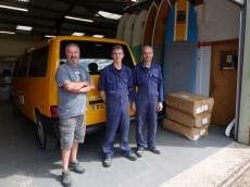 Thanks to the team at ActionVan!