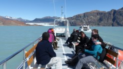 A trip to get up close to the enormous Viedma Glacier