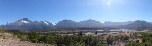 The valley of Villa Cerro Castillo