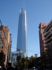 The nearly finished Costanera Centre, which was just visible in the distance in the previous picture