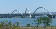 The Juscelino Kubitschek Bridge