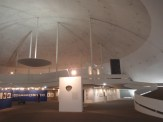 The striking space inside is now a cultural centre