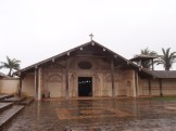 A very wet All Saint's day morning at St Javier
