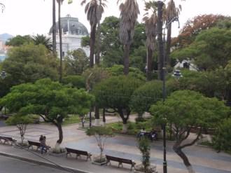 Sucre's charming main square, Plaza 25 de Mayo