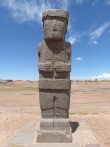 One of the many impressive monoliths