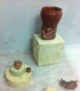 Examples of the fine pottery