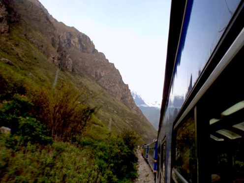 Climbing back up to the Sacred Valley on the way home