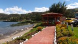 We enjoyed a lovely detour down to Laguna de Pachucha for lunch
