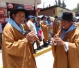 I was delighted to get to see so many quenas (Andean flutes)