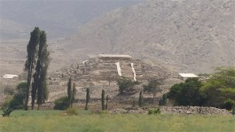Still being excavated - this pyramid is on the other side of the valley