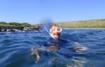 Happy snorkeler!