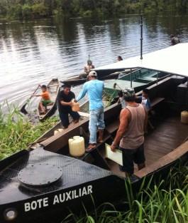 The Rio Amazonas also brought some supplies