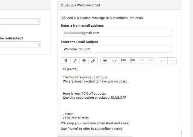 wordpress autoresponder plugin