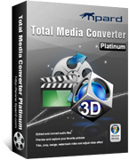 Tipard Total Media Converter Platinum 1