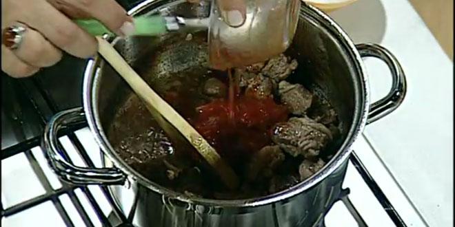 soslu tencere kababı