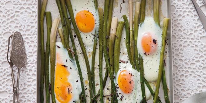 Yerli Kuşkonmazlı ve Pastırmalı Göz Yumurta