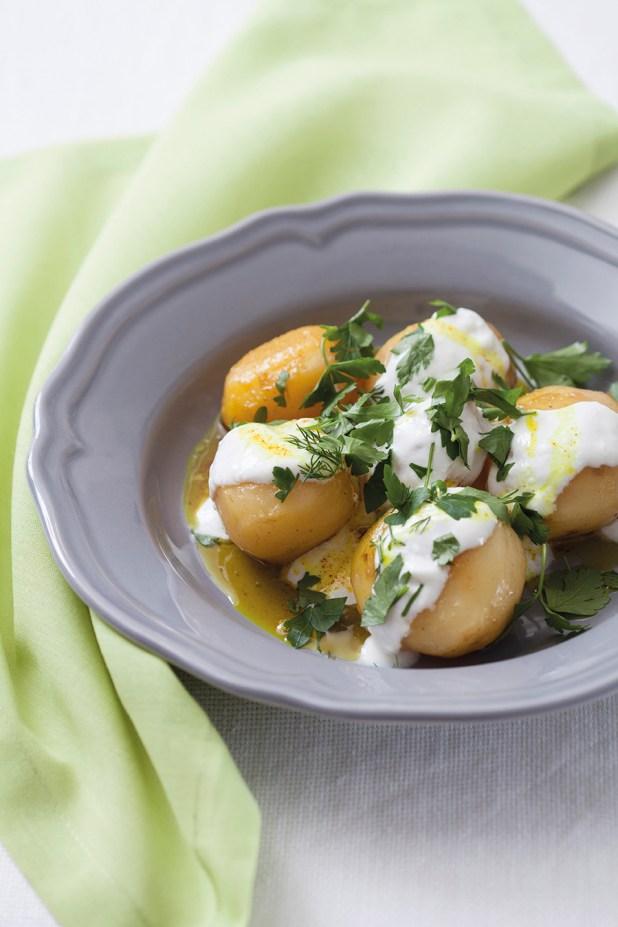 Zerdeçallı Patates