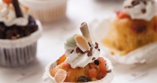 Muzlu, Bademli ve Kuru Meyveli Kek