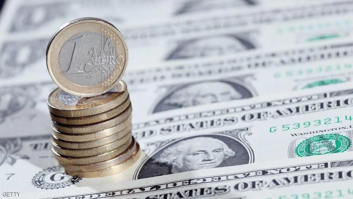 اليورو يرتفع