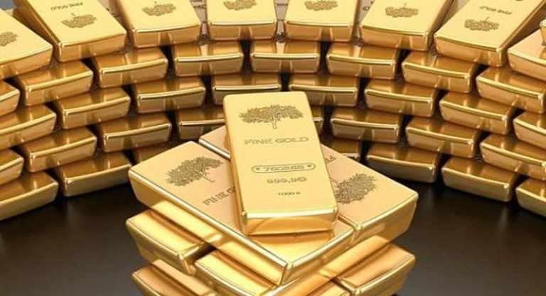 سجل الذهب ارتفاع الى اعلى مستوى لة خلال شهر