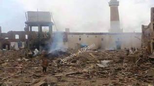 Al-Hadi Mosque Damage