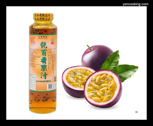 Taiwan Chin Hun Pure Lilikoi Passion Fruit Juice Jam passionfruit maracuja Chinola Concentrate Refreshing Summer Drinks with Pulps