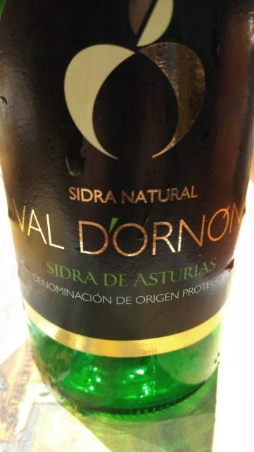 Sidra asturiana Val D´Ornón